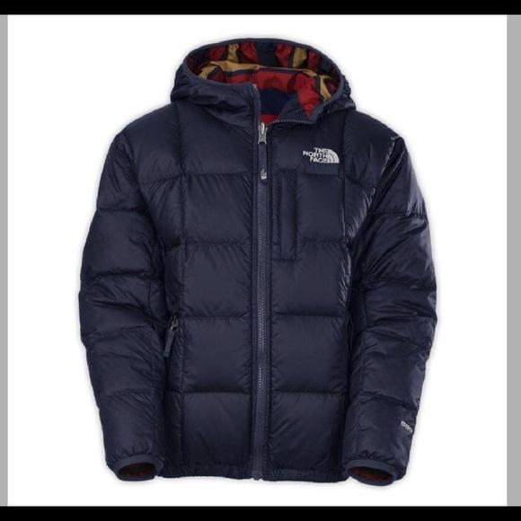 663bf5668c17 Boys North Face Reversible Moondoggy Jacket. M 5c745abc04e33d7b34917b6b
